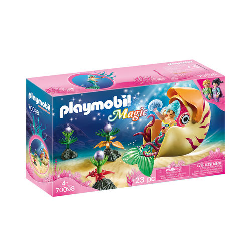 Playmobil 70098 Sirena con caracol de mar ¡Magic!