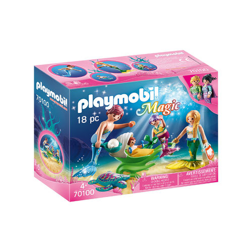 Playmobil 70100 Familia de sirenas ¡Magic!