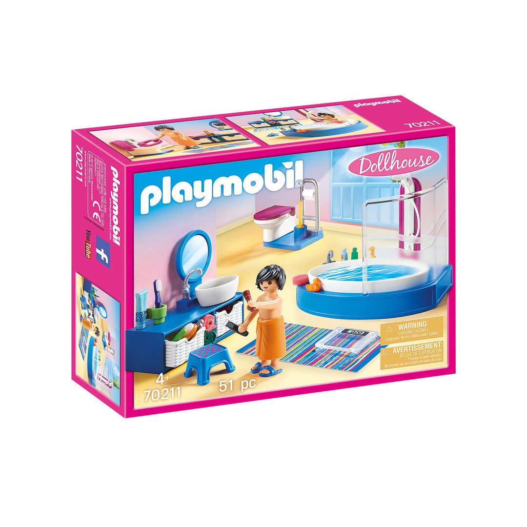 Playmobil 70211 Cuarto de baño