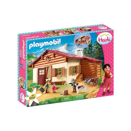 Playmobil 70253 Heidi y su abuelo en la cabaña ¡Heidi!
